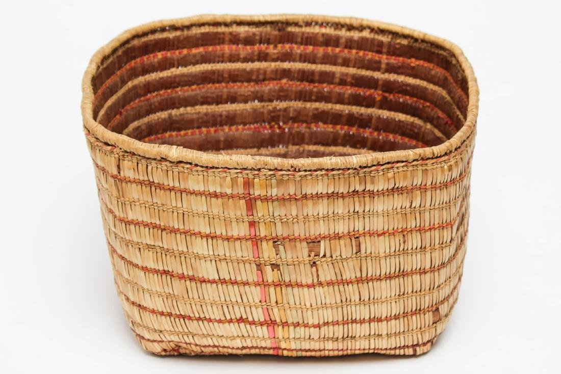 Antique North West Coast Native American Basket