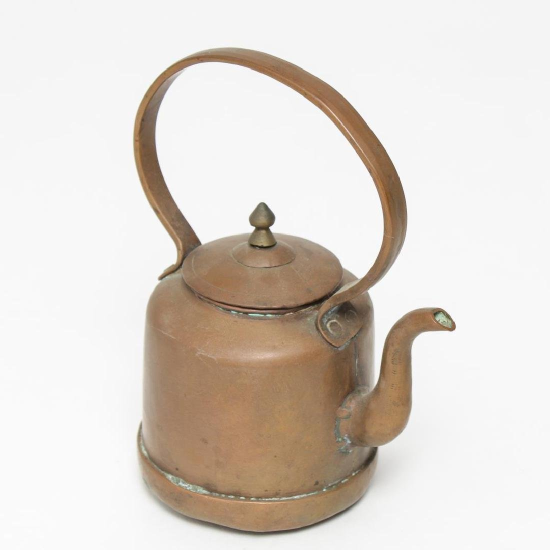 Chinese Copper Teapot, Yixing-Manner