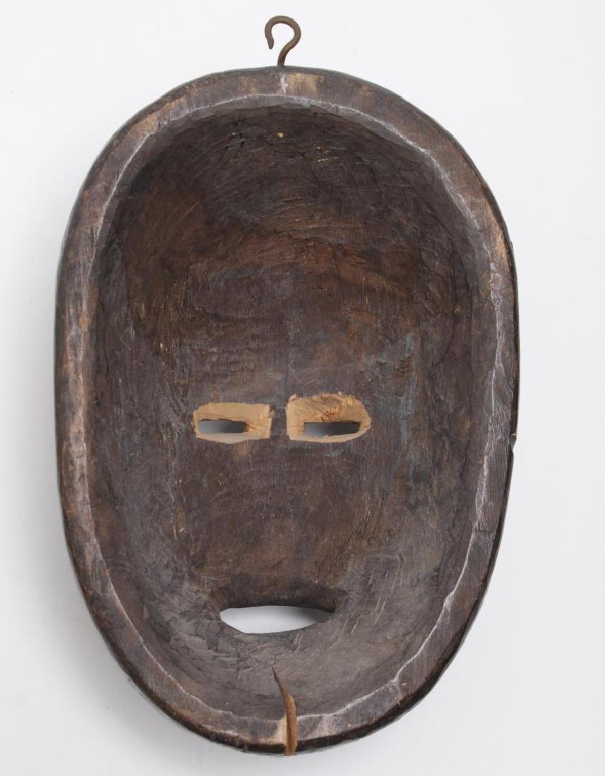 African Tribal Dan Mask, Carved Wood - 2