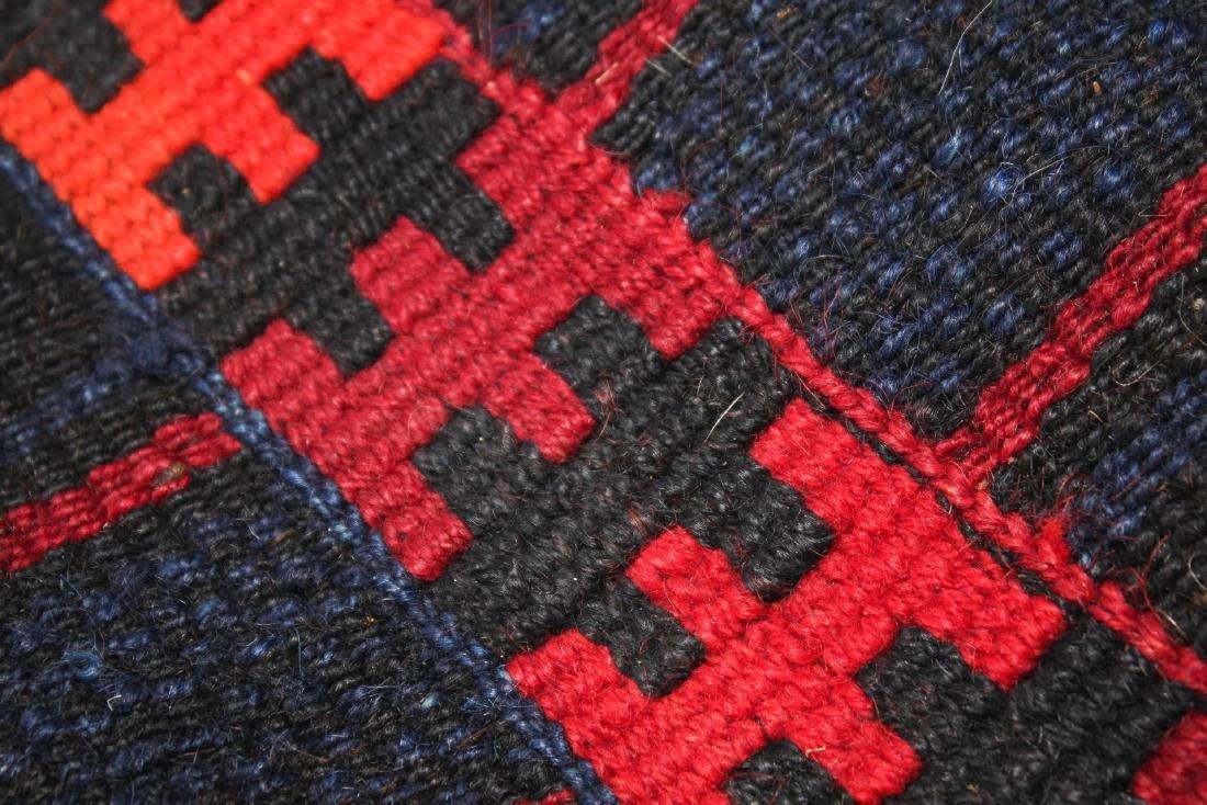 Tribal Ethnographic Woven Wool Satchel - 2