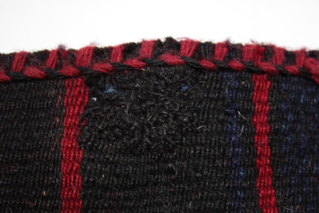 Tribal Ethnographic Woven Wool Satchel - 3