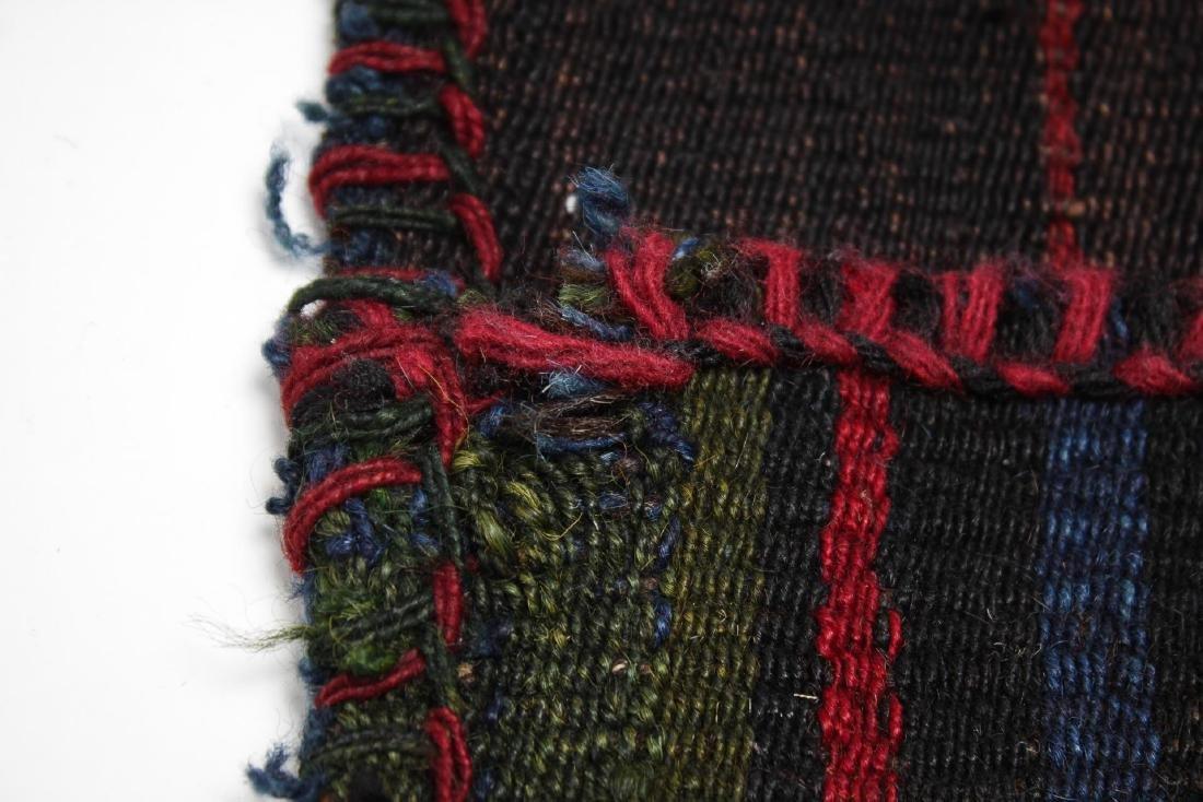 Tribal Ethnographic Woven Wool Satchel - 4