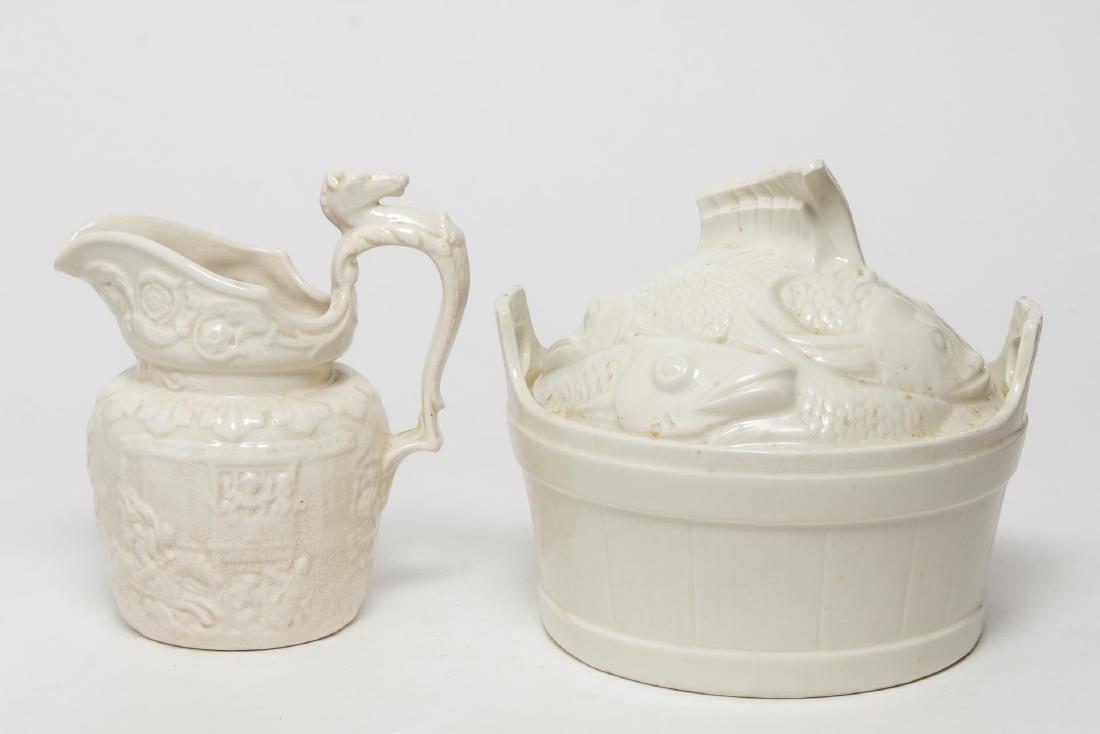 Porcelain & Ceramic Kitchen Items, 3 Vintage Pcs - 9