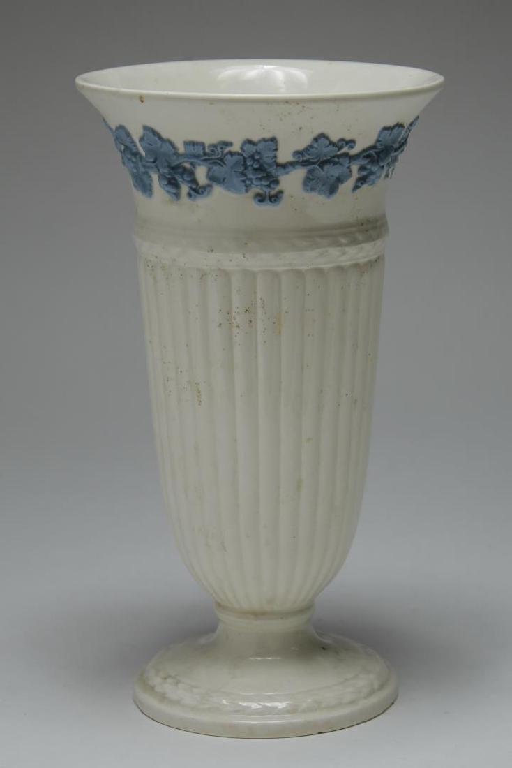 English & French White Porcelain Vases & Beaker - 8