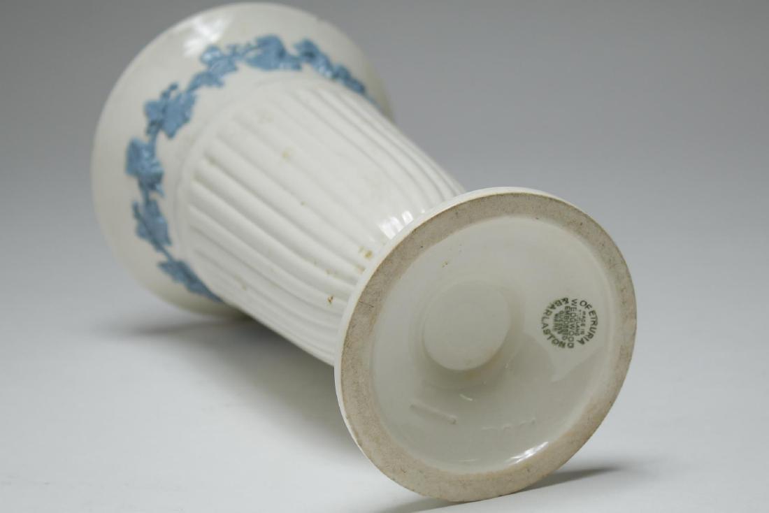 English & French White Porcelain Vases & Beaker - 9