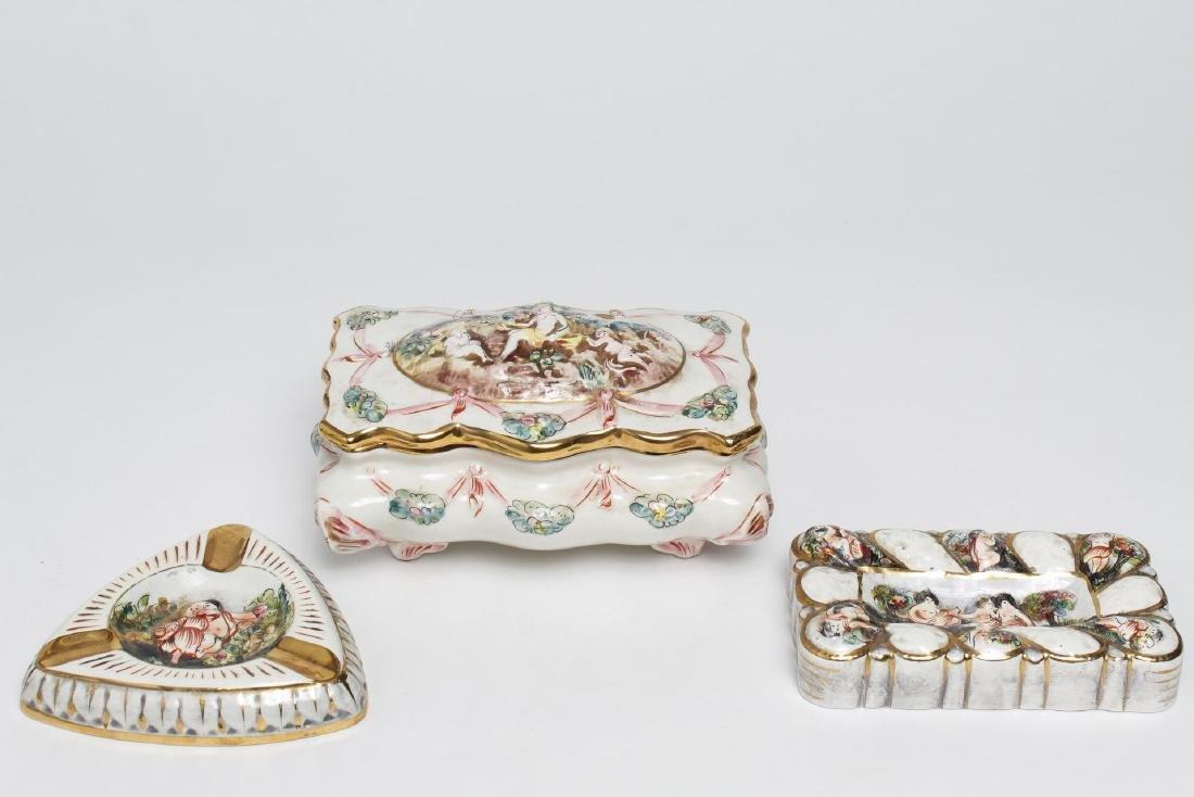 Capodimonte Bernini & MAS Porcelain Pieces