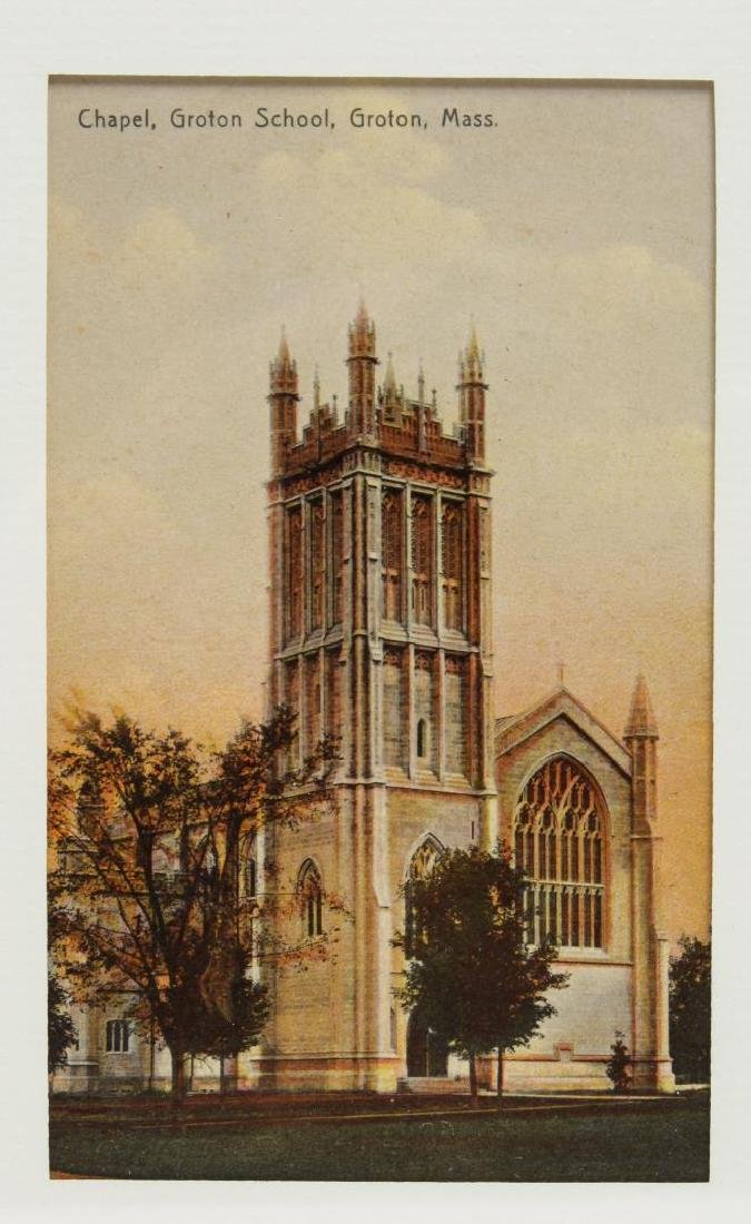 Groton School Antique Postcards, 3 in Frames - 2