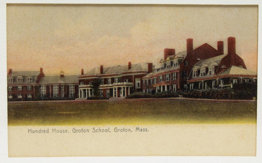 Groton School Antique Postcards, 3 in Frames - 4