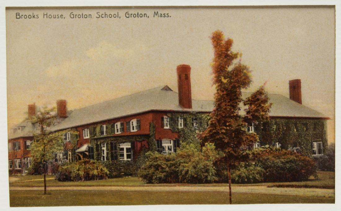 Groton School Antique Postcards, 3 in Frames - 5