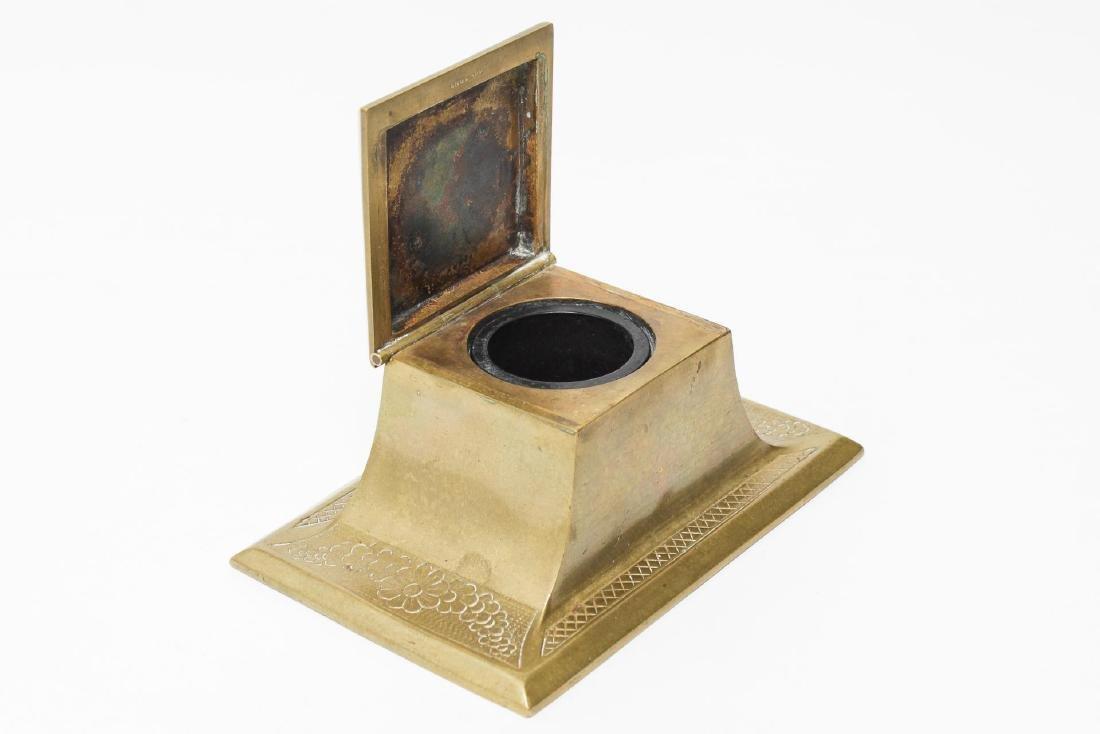 Victorian Brass Antique Inkwells, 3 - 4