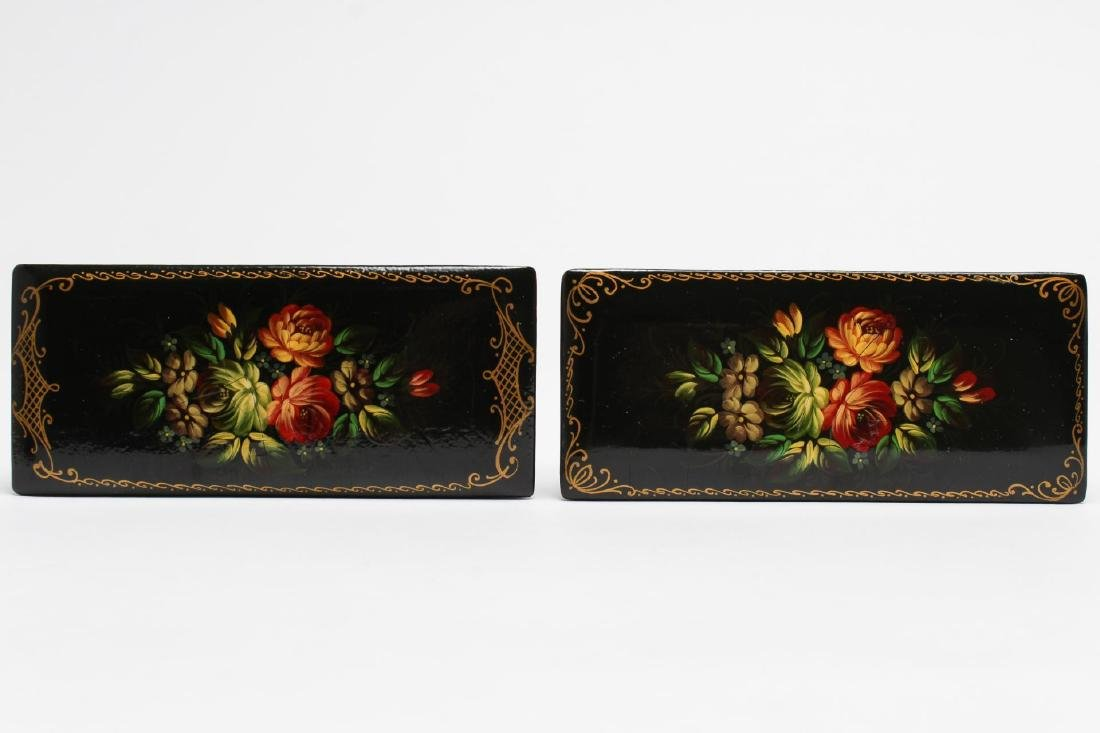 Russian Lacquer Trinket Boxes, 3 - 2