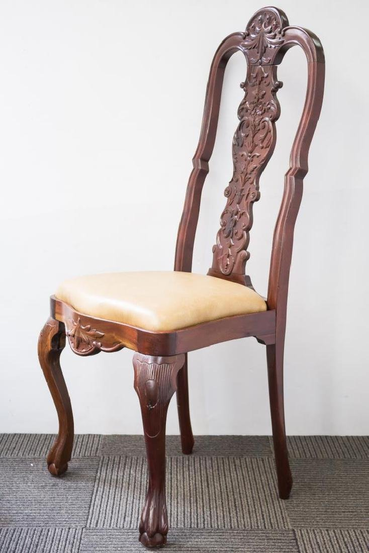 Queen Anne-Style Side Chair, in the Irish Manner - 3