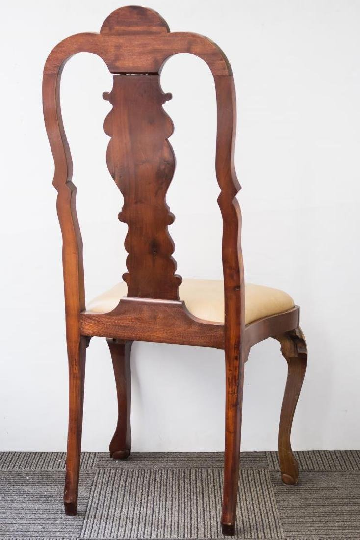 Queen Anne-Style Side Chair, in the Irish Manner - 4