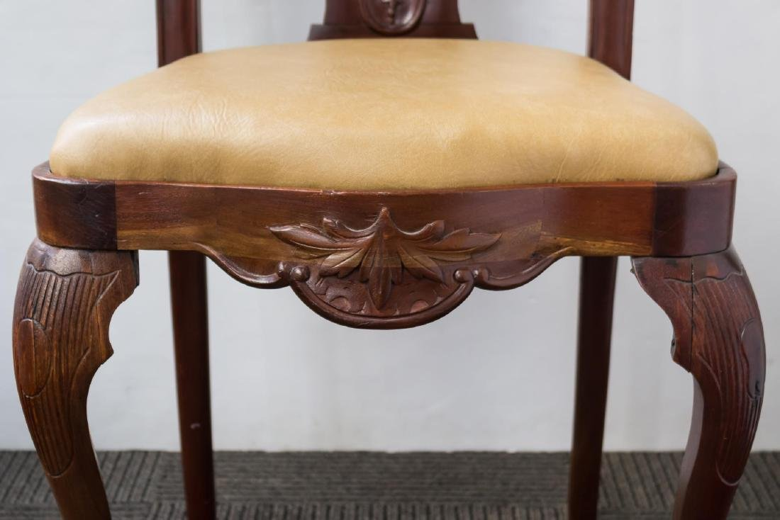 Queen Anne-Style Side Chair, in the Irish Manner - 6