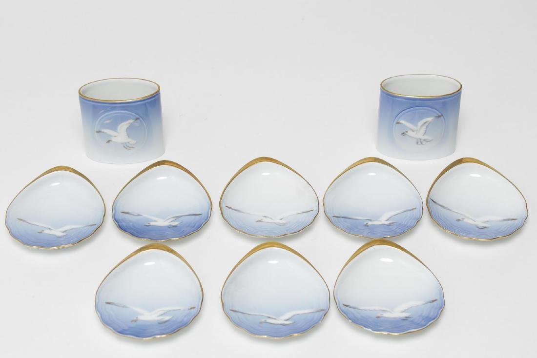 "Bing & Grohdahl Porcelain ""Seagull"" Dishes, 10"