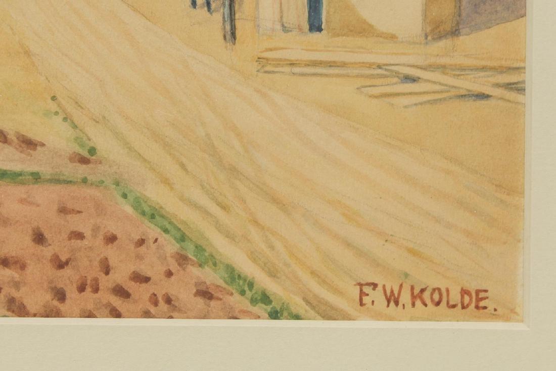 Frederick Kolde (American, 1870-1957)- Watercolor - 3