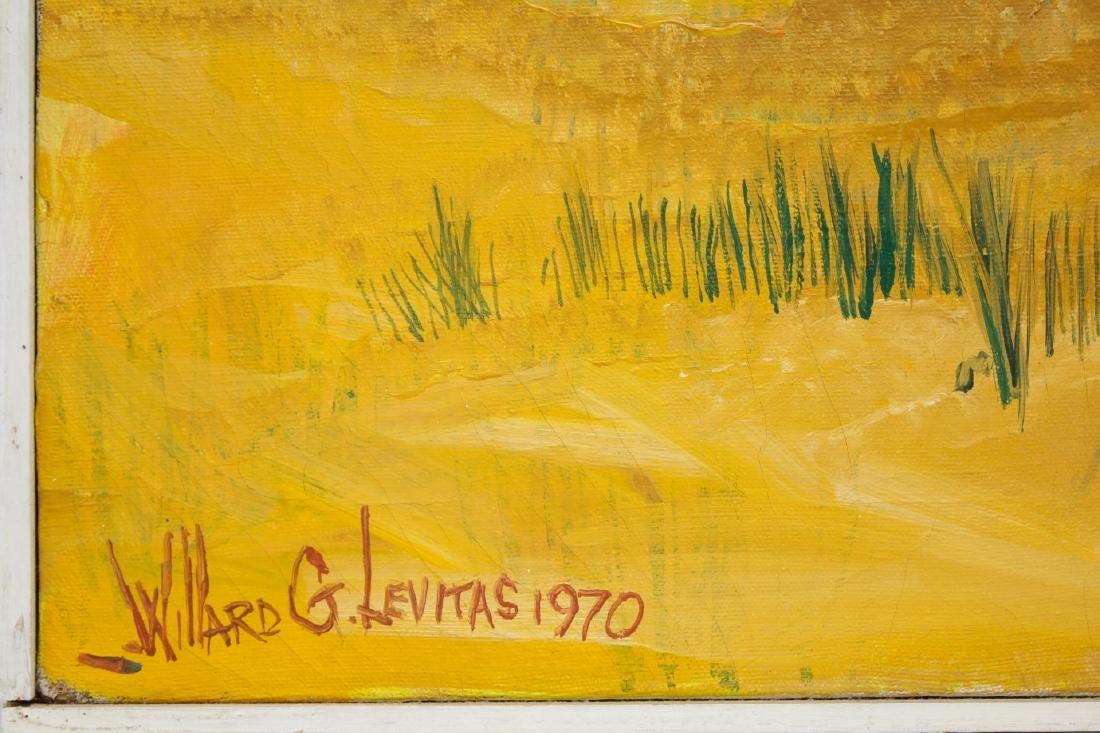 Willard Levitas (American, 1921-2001)- Oil - 3
