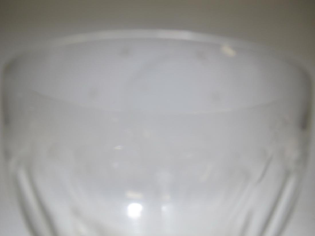 Victorian Masonic glass bowl - 4