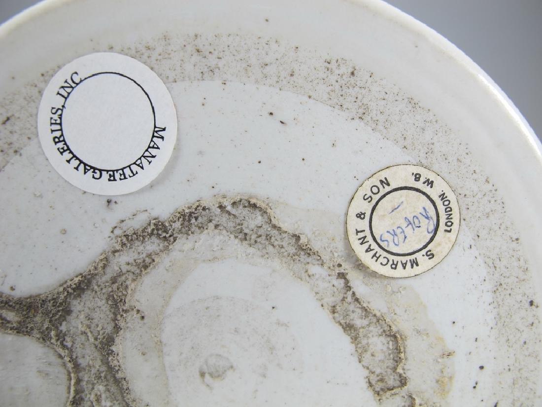 Antique English Masonic big porcelain mug - 8
