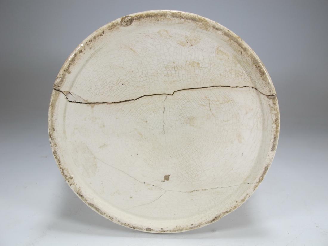 Early 19th C English Masonic pottery pitcher - 10
