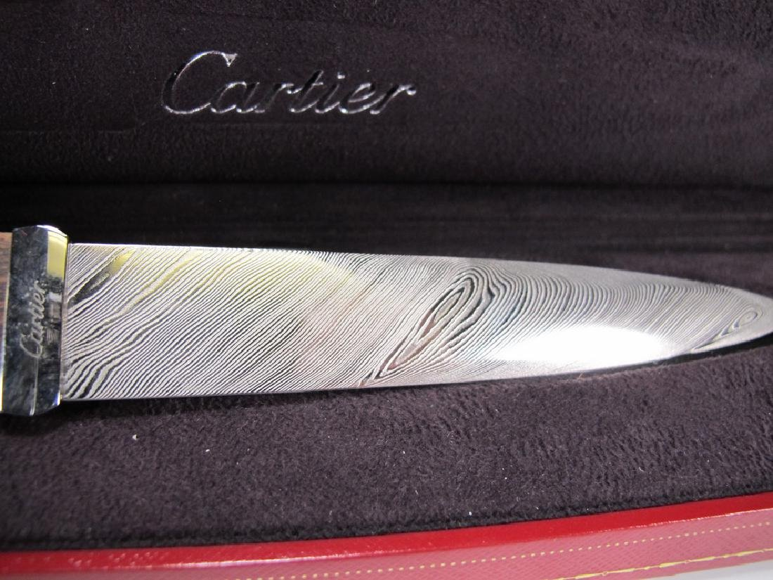 Limited Edition Cartier Masonic letter opener - 2