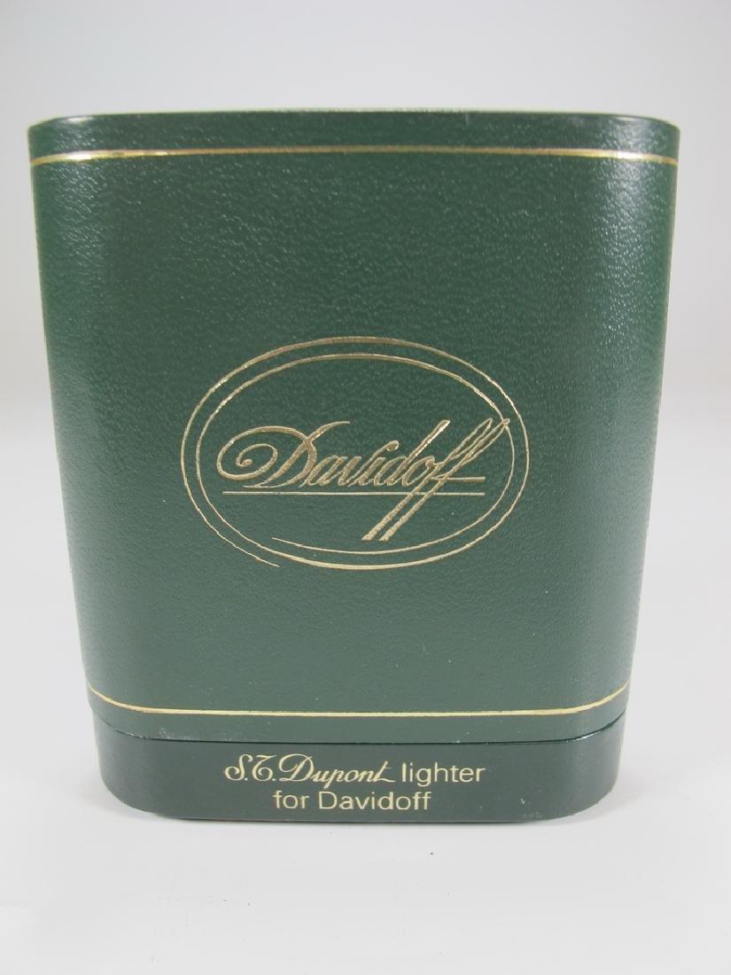 S.T Dupont Davidoff Masonic wood grain lighter - 5