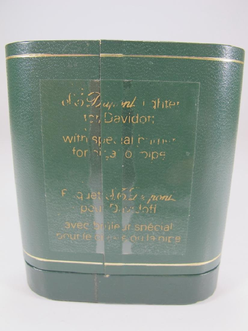 S.T Dupont Davidoff Masonic wood grain lighter - 6