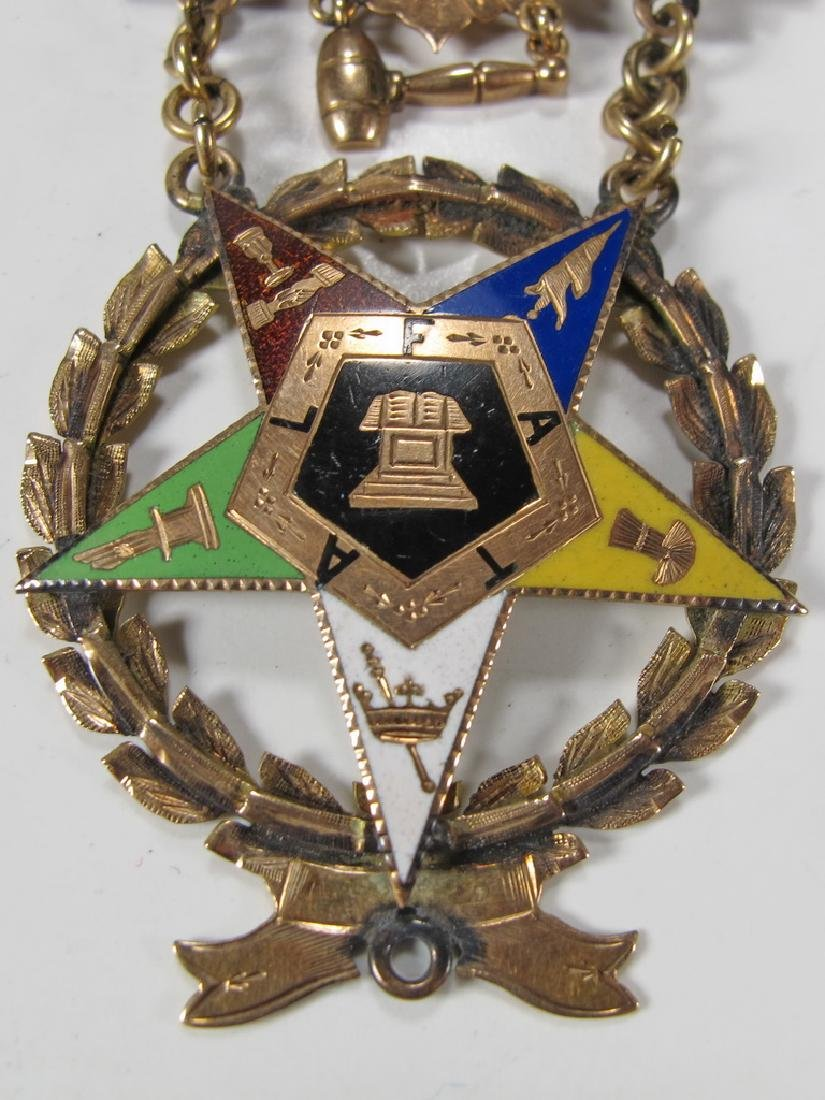 Antique Masonic Order of the Eastern Star jewel - 3