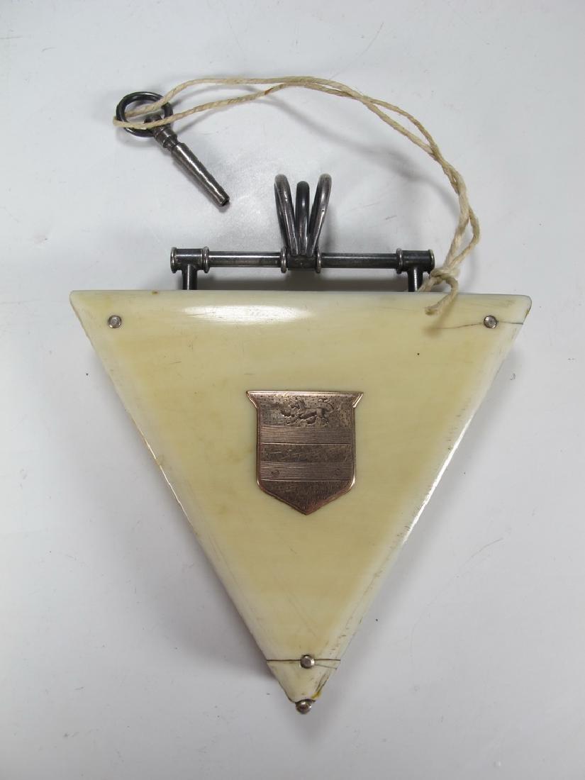 Antique Masonic Wm. Jacob pocket watch