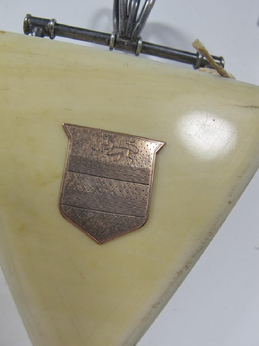 Antique Masonic Wm. Jacob pocket watch - 2