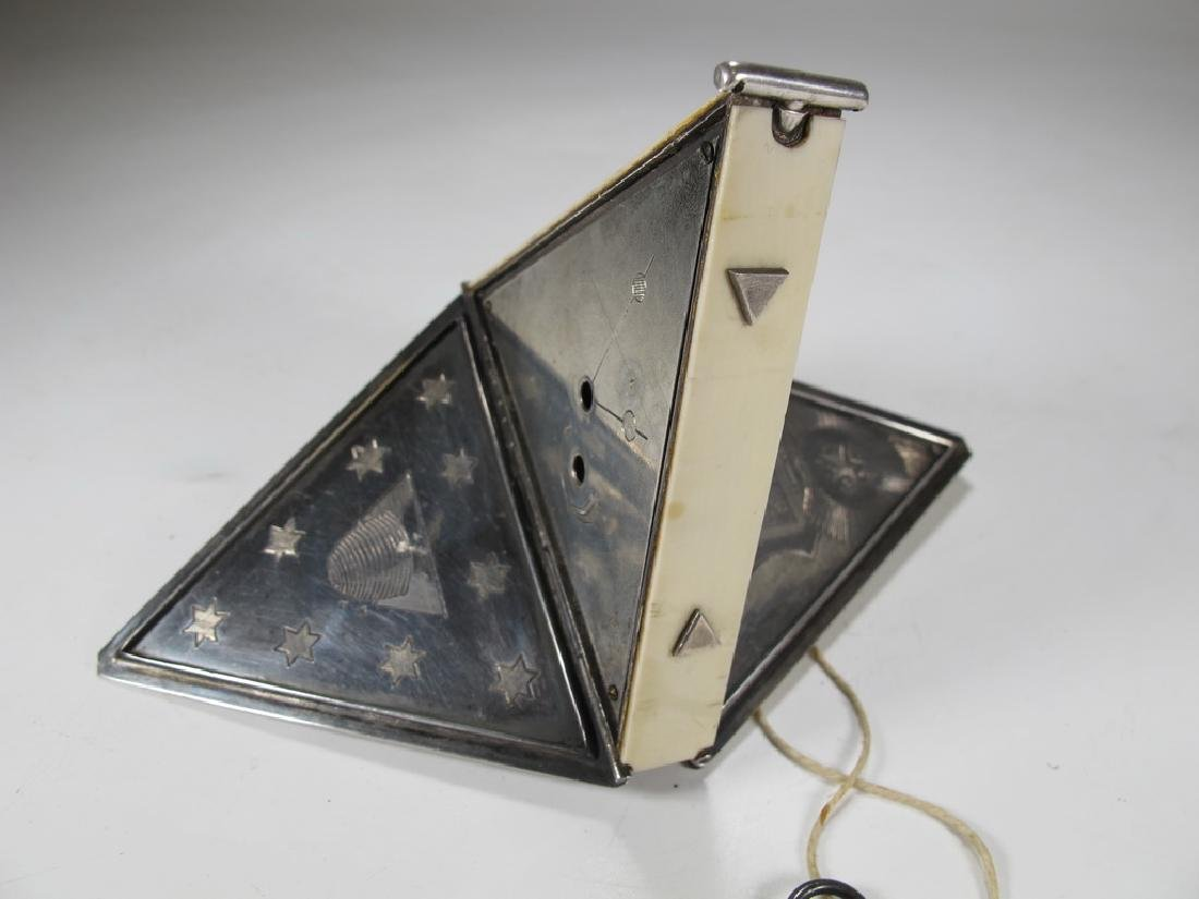 Antique Masonic Wm. Jacob pocket watch - 6