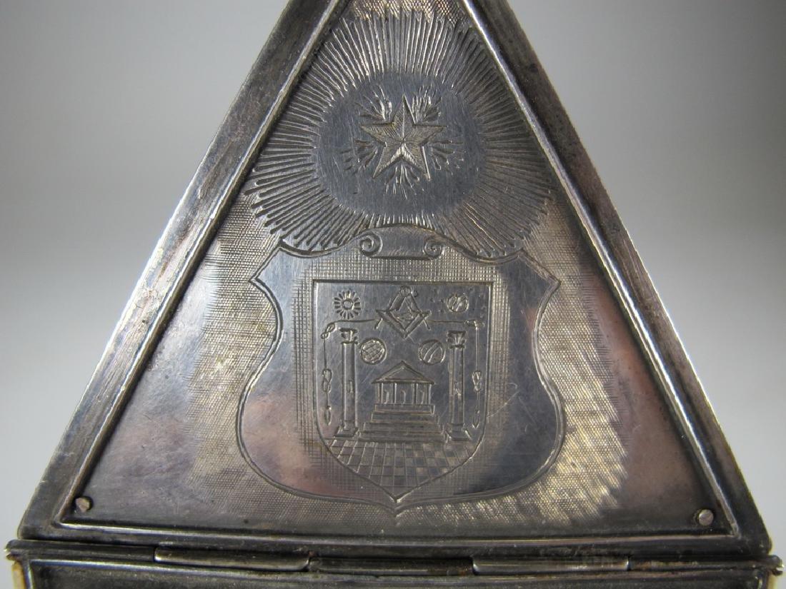 Antique Masonic Wm. Jacob pocket watch - 7