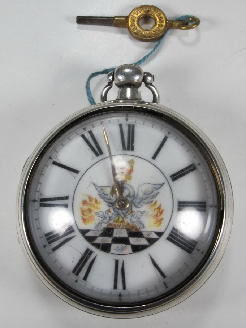 THOs Ross & Son, Glasgow Masonic pocket watch