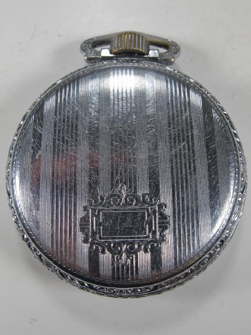Vintage Waltham Masonic 15 jewels pocket watch - 3