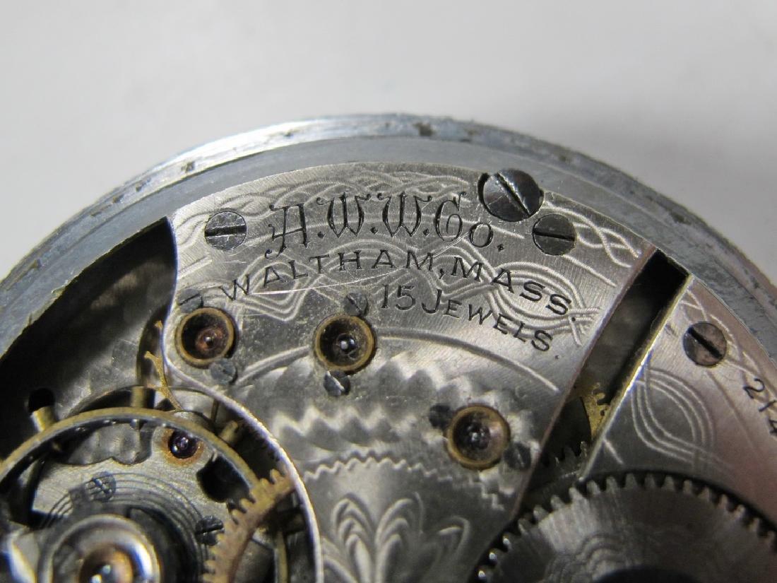 Vintage Waltham Masonic 15 jewels pocket watch - 5
