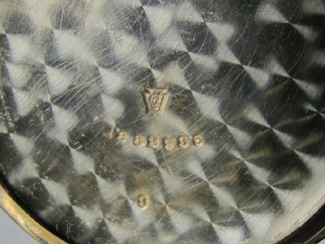 Vintage Elgin Masonic silveroid case pocket watch - 6