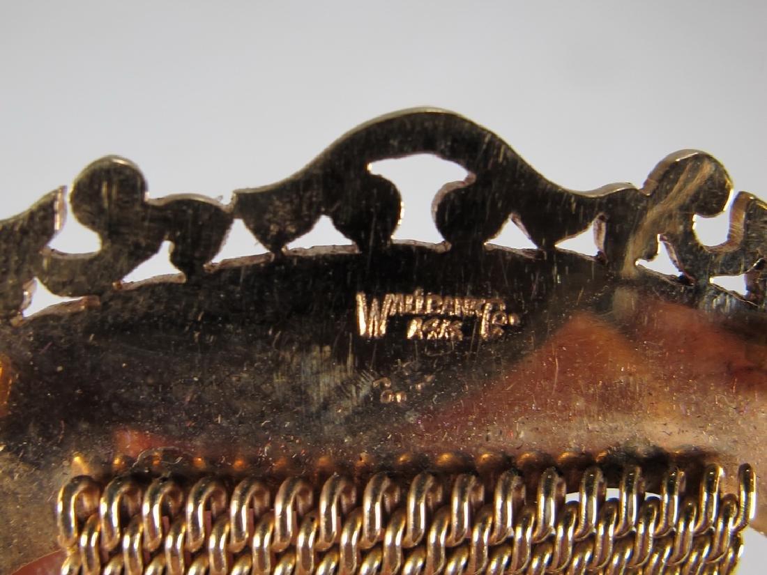 Vintage Masonic 14 kt gold Past Master jewel - 7