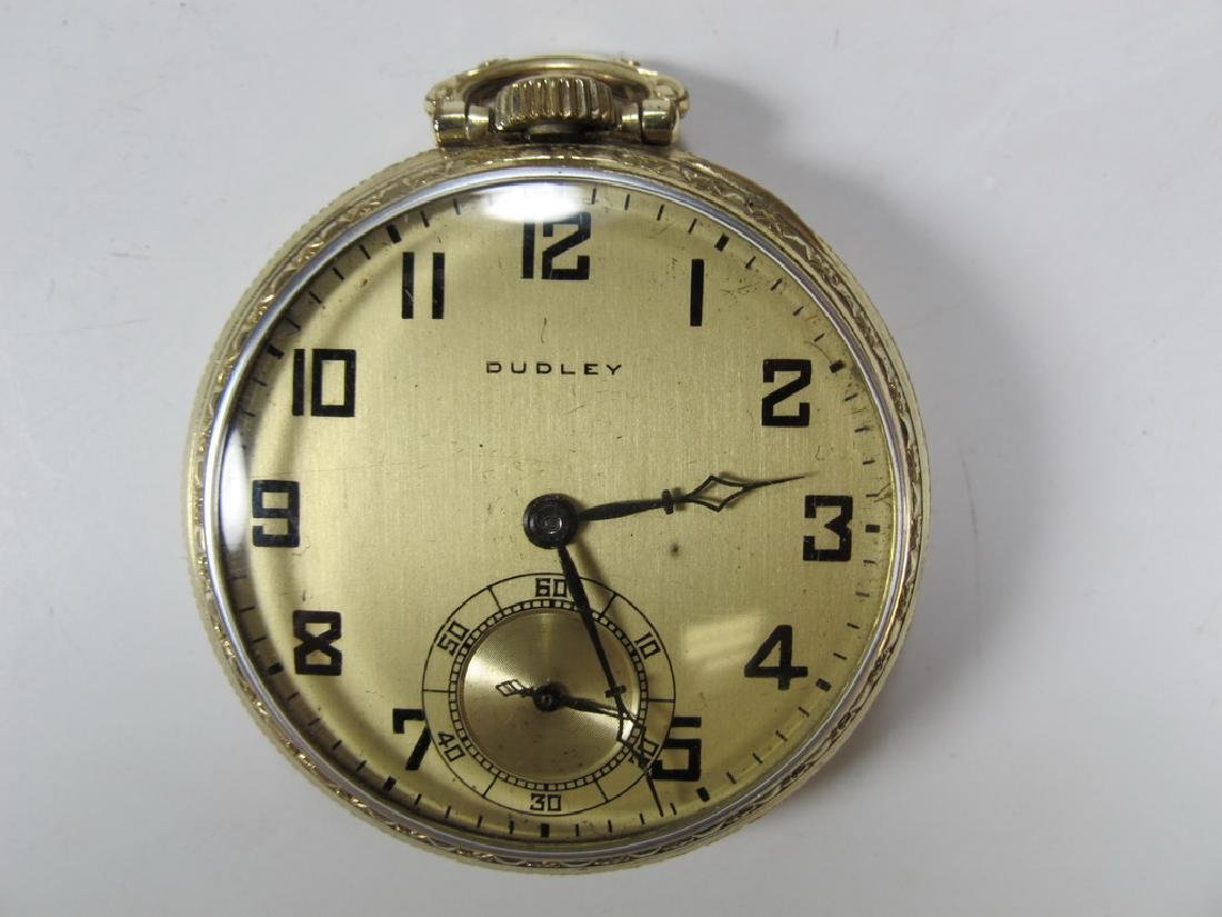 Vintage Dudley Masonic 19 jewels pocket watch