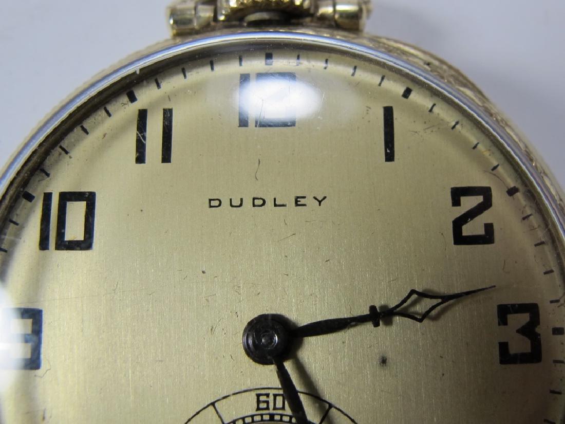 Vintage Dudley Masonic 19 jewels pocket watch - 2