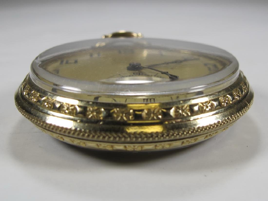 Vintage Dudley Masonic 19 jewels pocket watch - 6