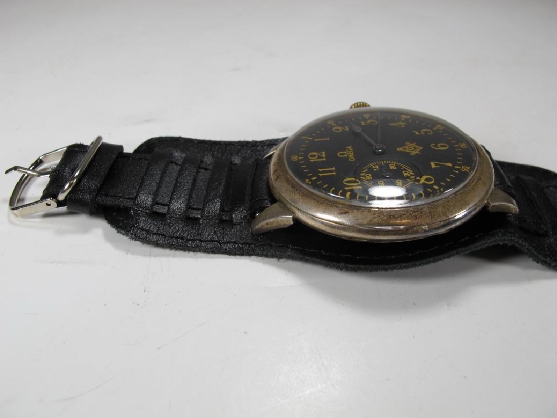 Antique Masonic Omega Grand Prix 1900 wrist watch - 3
