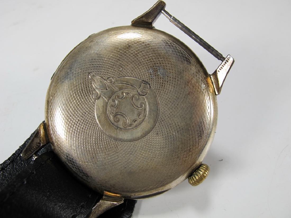 Antique Masonic Omega Grand Prix 1900 wrist watch - 4