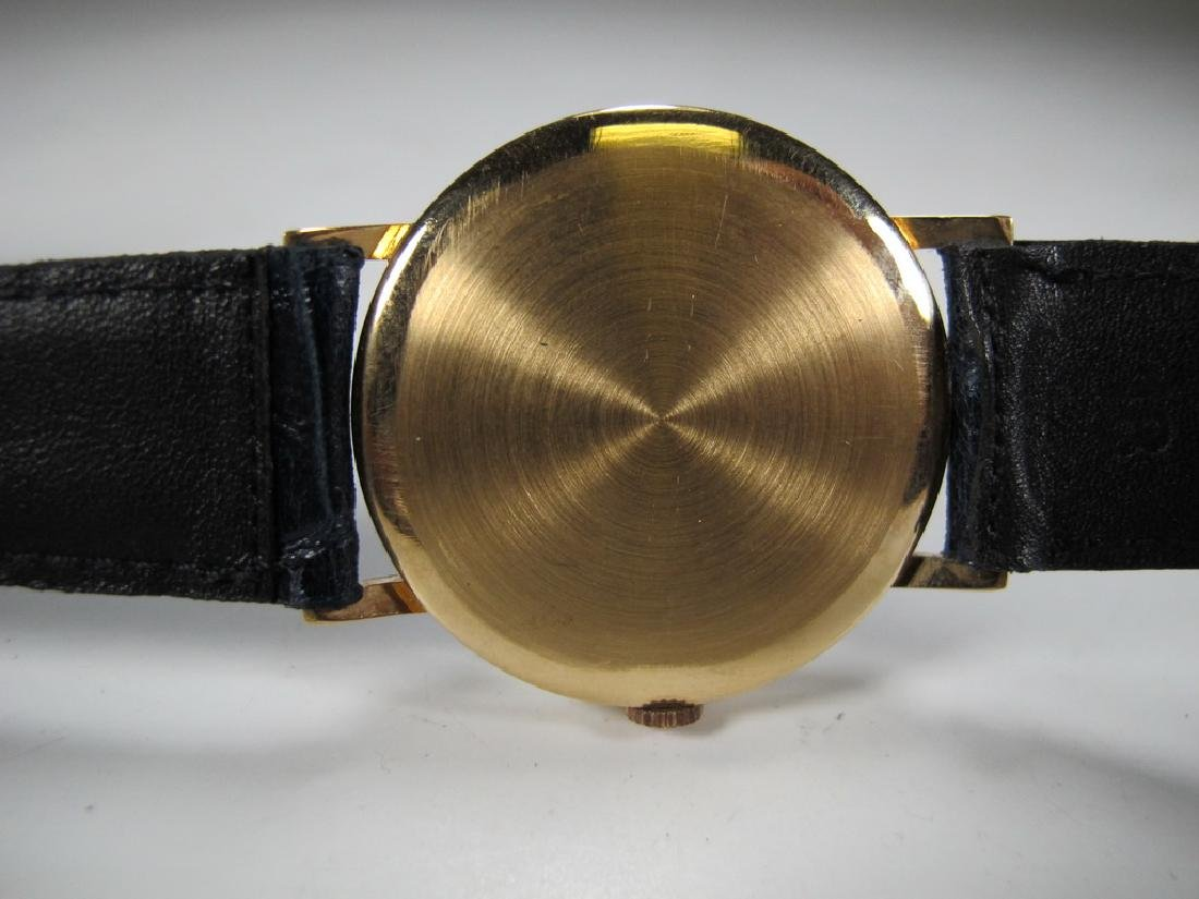 Vintage Masonic Longines 18k gold men's wrist watch - 3
