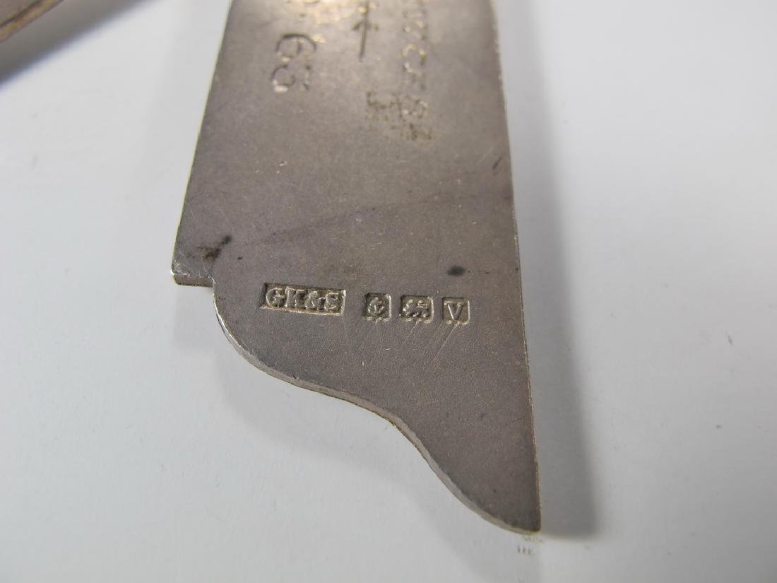 G. Kenning & Son Masonic silver plate Past Master jewel - 5