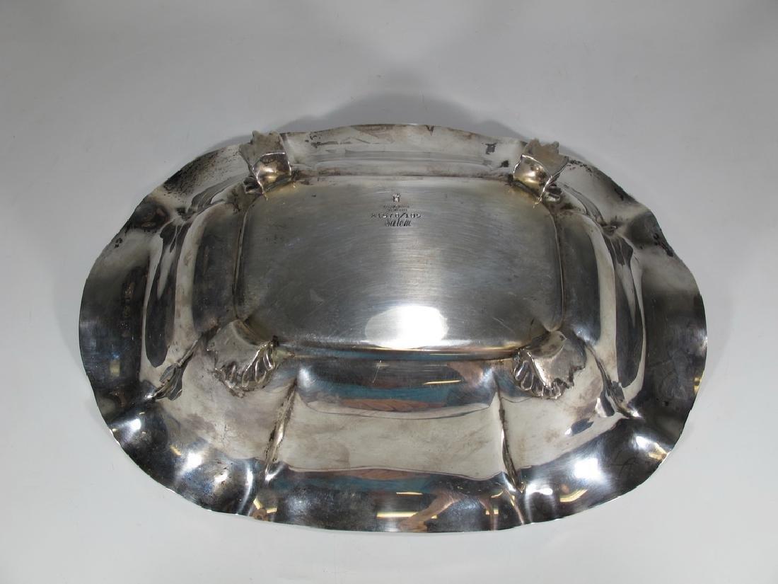 Rare Reed & Barton Salem sterling silver centerpiece - 4