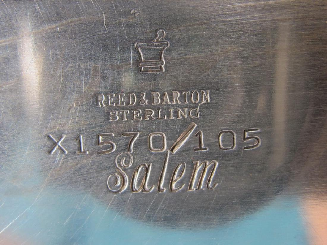Rare Reed & Barton Salem sterling silver centerpiece - 5