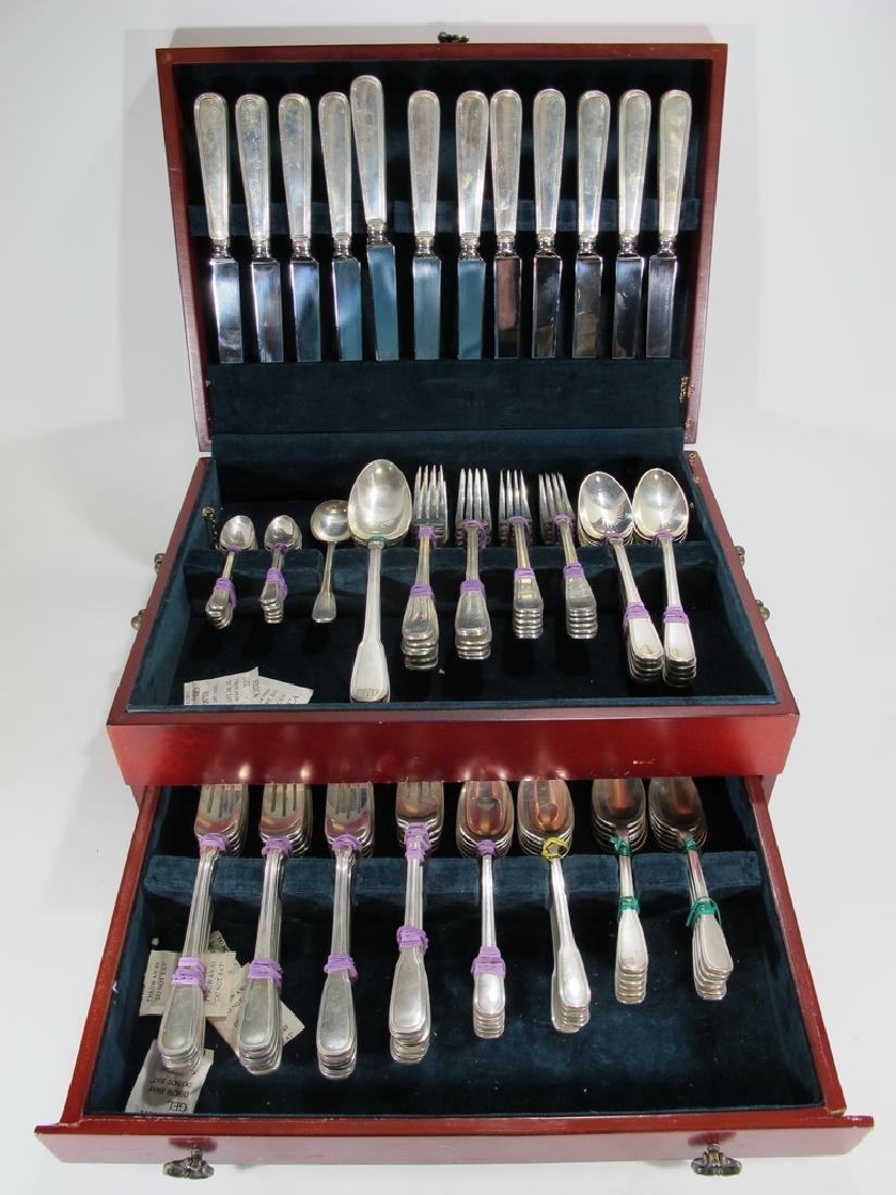 Tiffany & Co antique sterling 113 pcs flatware