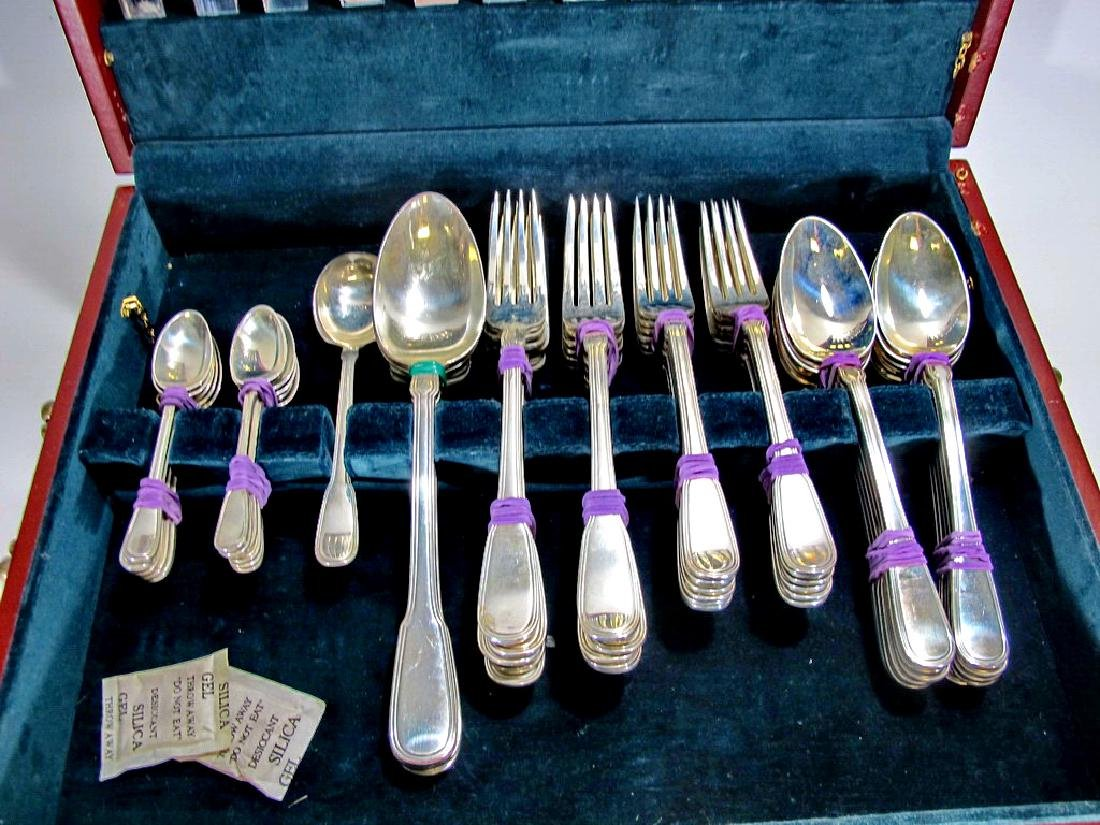 Tiffany & Co antique sterling 113 pcs flatware - 3
