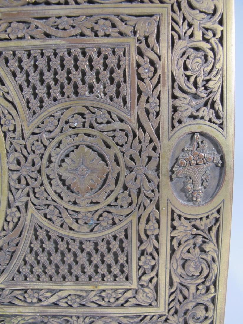 Amazing Antique European bronze jewelry box - 5