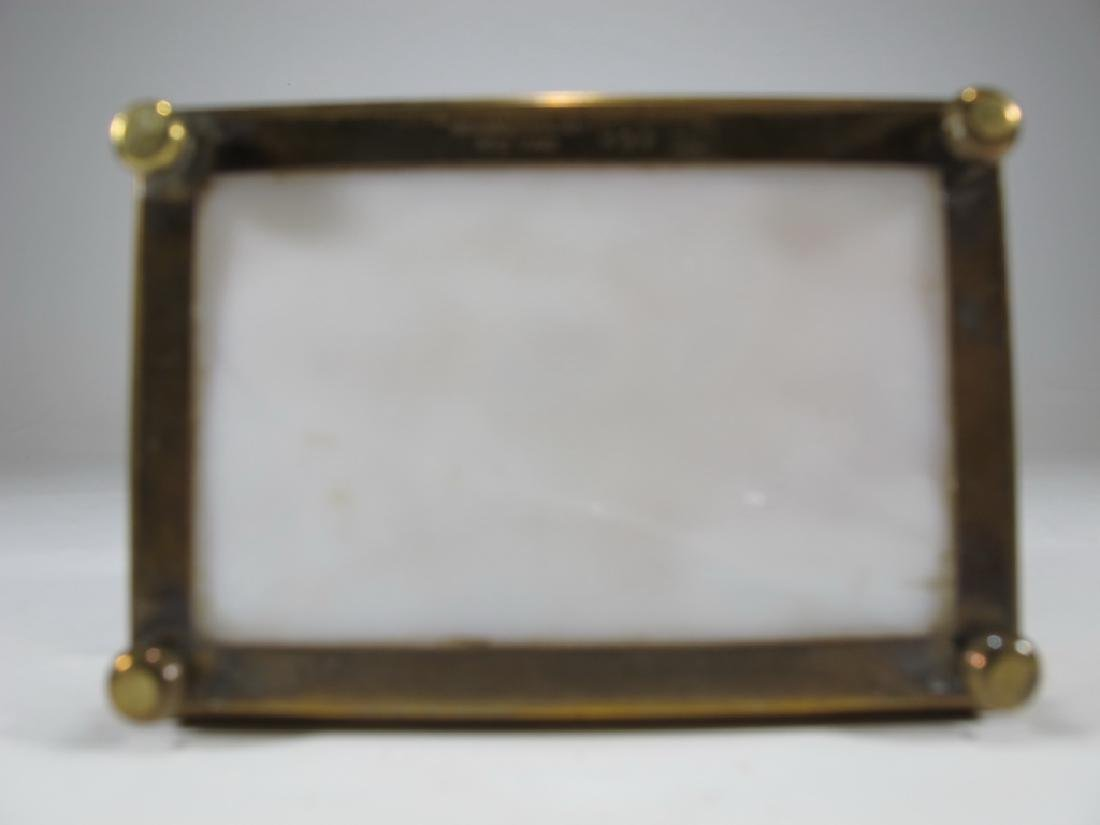 Antique Tiffany Studios bronze & glass box - 5